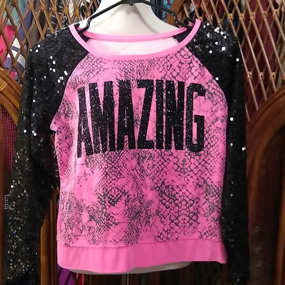 Justice Other - Justice Sweatshirt Size 16 Girls - Amazing